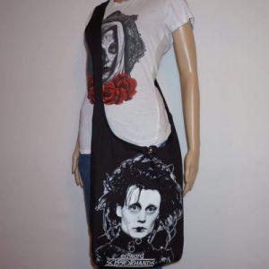Edward Scissors Hands Shoulder Bag