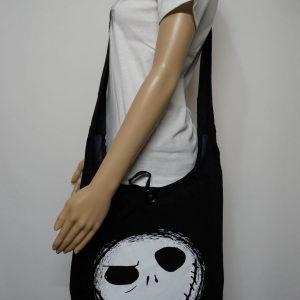 Jack Skeleton Face Shoulder Bag
