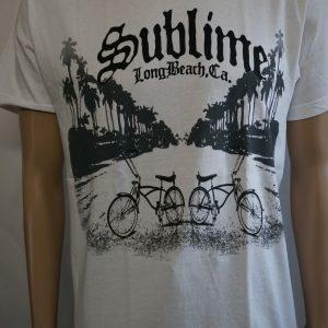 Sublime-Long Beach CA.-White (Shirt/T-Shirt)