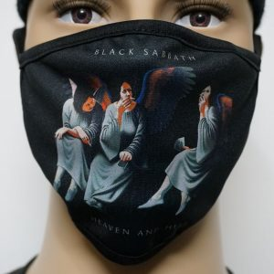 Black Sabbath-Heaven and Hell (Face Mask)